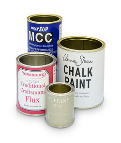 Photo of Lever Lid Tins