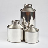 Cone Top Tin Containers